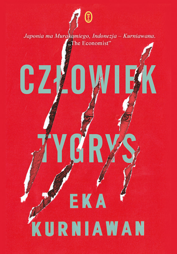 okładka Człowiek tygrysebook   EPUB, MOBI   Jędrzej Polak, Eka Kurniawan