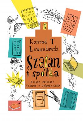 okładka Szatan i spółka, Ebook | Konrad T. Lewandowski