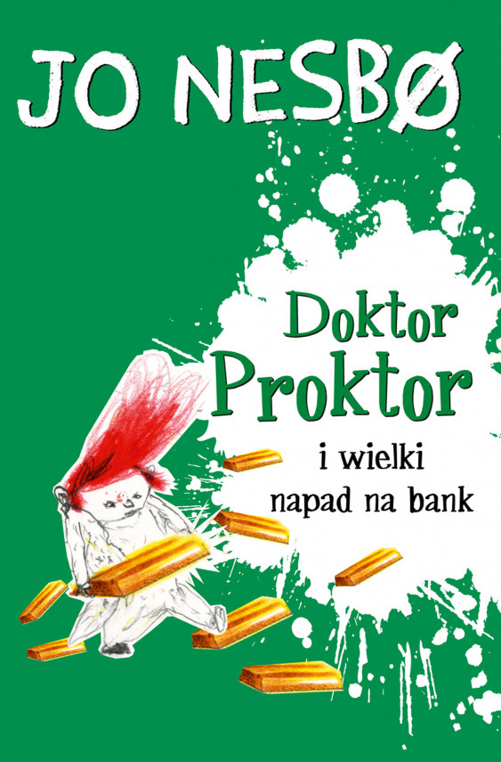 okładka Doktor Proktor (#4). Doktor Proktor i wielki napad na bankebook | EPUB, MOBI | Iwona Zimnicka, Jo Nesbø, Per Dybvig