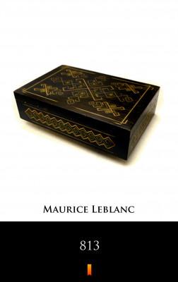 okładka 813, Ebook   Maurice Leblanc