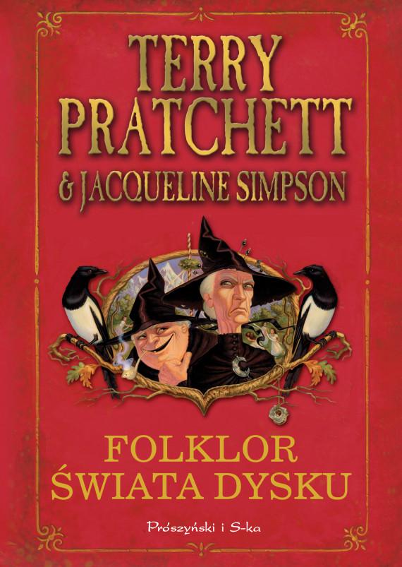 okładka Folklor Świata Dyskuebook | EPUB, MOBI | Terry Pratchett, Jacqueline Simpson