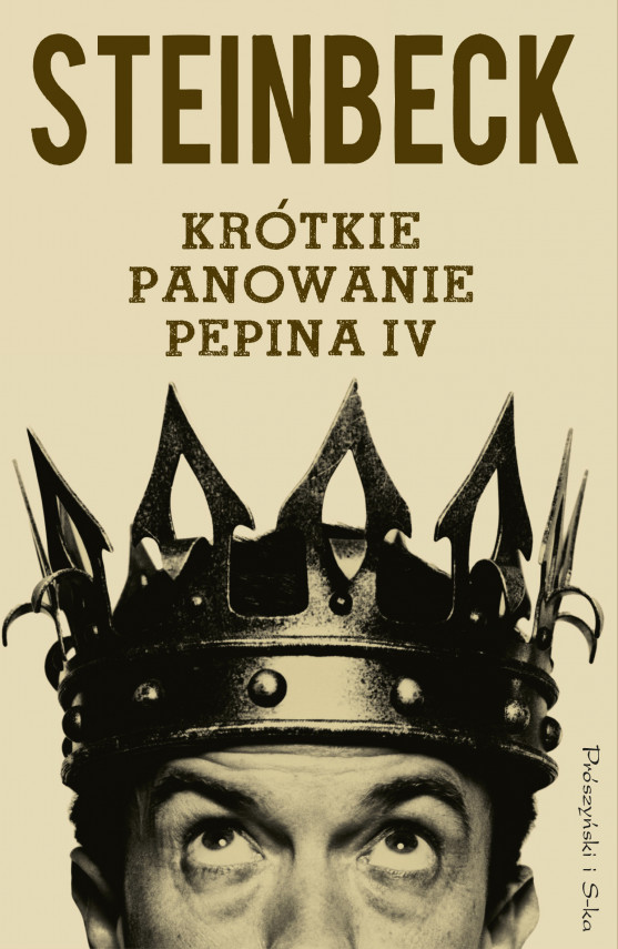 okładka Krótkie panowanie Pepina IVebook   EPUB, MOBI   John Steinbeck