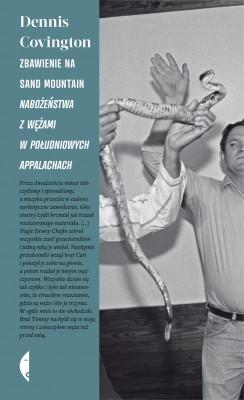 okładka Zbawienie na Sand Mountain. Nabożeństwa z wężami w południowych Appalachach, Ebook   Dennis Covington