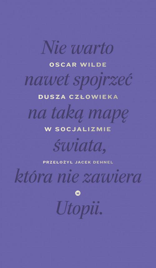 okładka Dusza człowieka w socjalizmieebook   EPUB, MOBI   Jacek Dehnel, Oscar Wilde