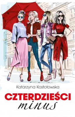 okładka Czterdzieści minus, Ebook | Katarzyna Kostołowska