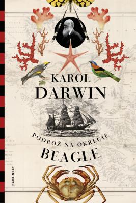"""okładka Podróż na okręcie """"Beagle"""", Ebook   Darwin Karol"""