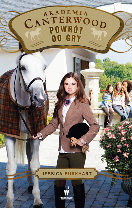 okładka Akademia Canterwood (Tom 16). Powrót do gryebook   EPUB, MOBI   Jessica Burkhart