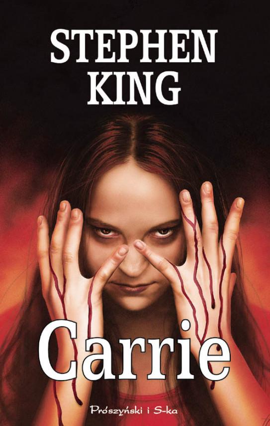 okładka Carrieebook | EPUB, MOBI | Stephen King, Danuta Górska