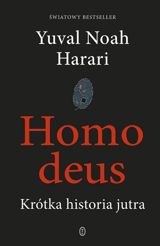 okładka Homo deus. Krótka historia jutraebook | EPUB, MOBI | Yuval Noah  Harari, Michał Romanek