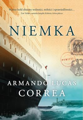 okładka Niemka, Ebook | Armando Lucas Correa