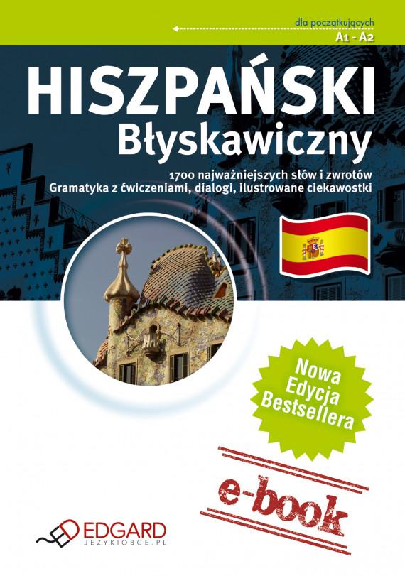okładka Hiszpański Błyskawicznyebook | EPUB, MOBI | autor zbiorowy