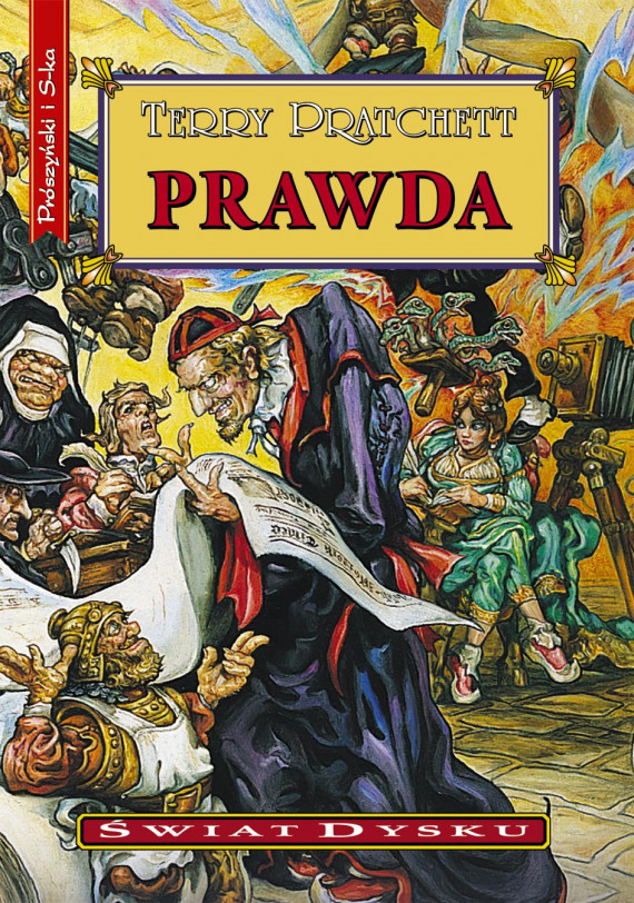 okładka PRAWDAebook | EPUB, MOBI | Terry Pratchett, Piotr W. Cholewa