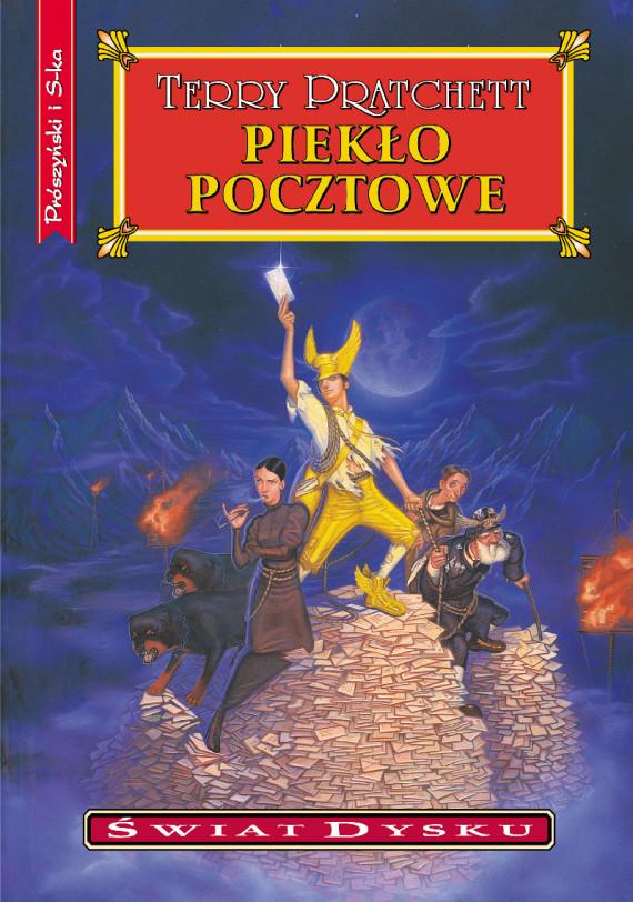 okładka Piekło pocztoweebook | EPUB, MOBI | Terry Pratchett, Piotr W. Cholewa