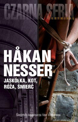okładka Detektyw Van Veeteren (#9). Jaskółka, kot, róża, śmierć, Ebook   Håkan Nesser