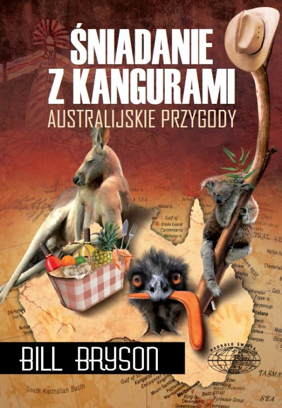 okładka Śniadanie z kangurami. Australijskie przygodyebook   EPUB, MOBI   Bill Bryson, Tomasz Bieroń
