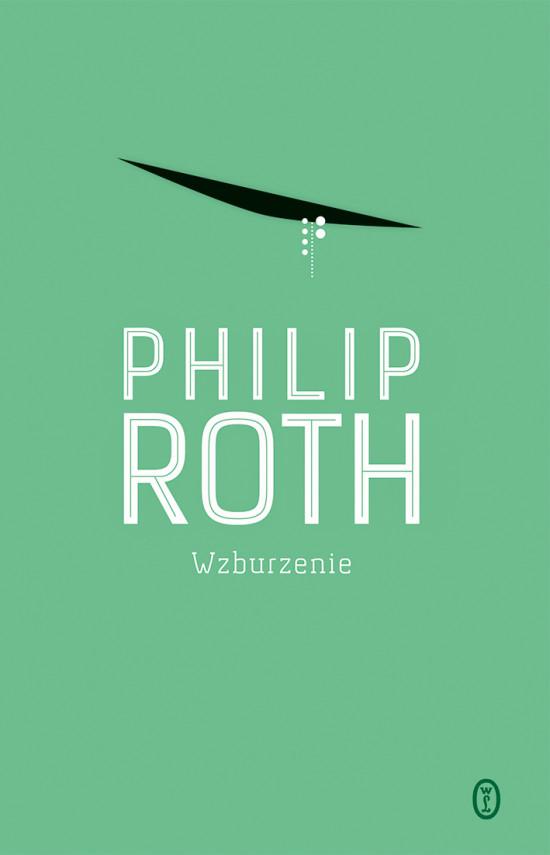 okładka Wzburzenieebook | EPUB, MOBI | Philip Roth