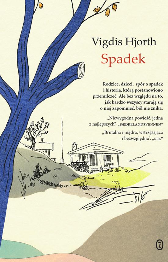 okładka Spadekebook | EPUB, MOBI | Vigdis Hjorth, Elżbieta Ptaszyńska-Sadowska