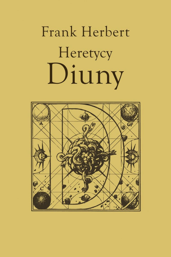 okładka Kroniki Diuny (#5). Heretycy Diunyebook | EPUB, MOBI | Frank Herbert, Marek Michowski