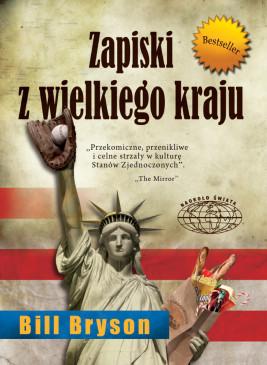okładka Zapiski z wielkiego kraju, Ebook | Bill Bryson