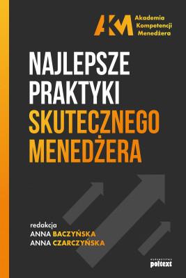 okładka Najlepsze praktyki skutecznego menedżera, Ebook | Anna Baczyńska