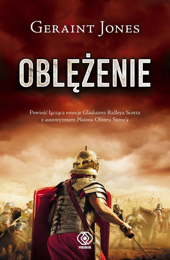 okładka Oblężenieebook   EPUB, MOBI   Mirosław P. Jabłoński, Geraint Jones