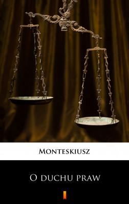 okładka O duchu praw, Ebook | praca zbiorowa