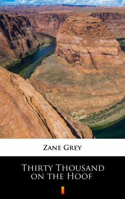 okładka Thirty Thousand on the Hoof, Ebook | Zane Grey