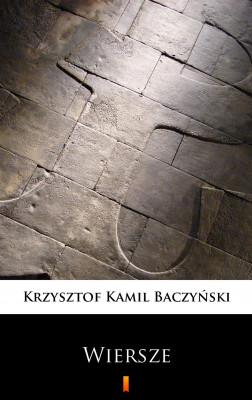 okładka Wiersze. Wybór, Ebook | Krzysztof Kamil Baczyński