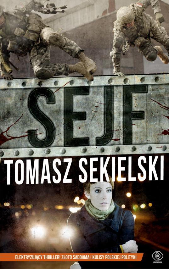 okładka Sejf (#1). Sejfebook | EPUB, MOBI | Tomasz Sekielski, Błażej Kemnitz