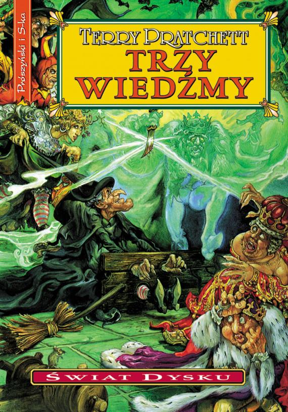 okładka Trzy wiedźmyebook | EPUB, MOBI | Terry Pratchett