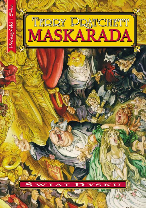 okładka Maskaradaebook | EPUB, MOBI | Terry Pratchett