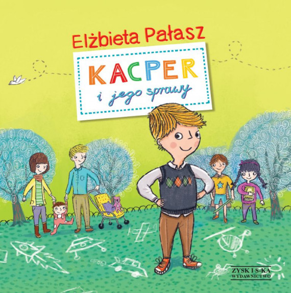 okładka Kacper i jego sprawyebook | EPUB, MOBI | Elżbieta Pałasz