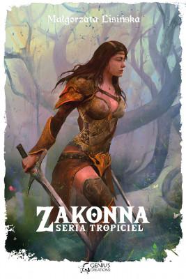 okładka Zakonna, Ebook | Małgorzata Lisińska