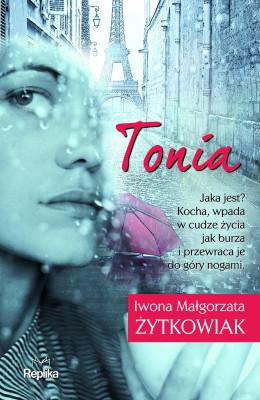okładka Tonia, Ebook | Iwona Małgorzata Żytkowiak