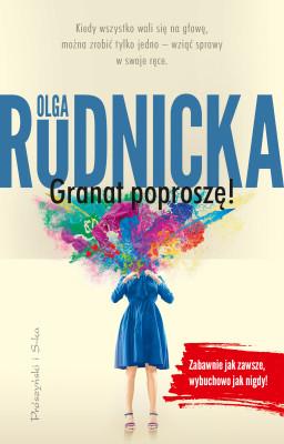 okładka Granat poproszę, Ebook | Olga Rudnicka