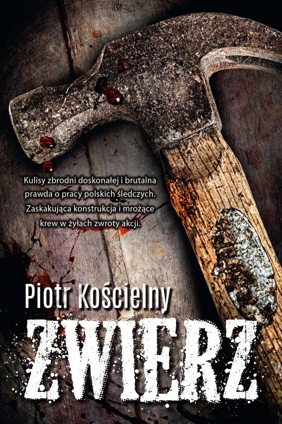 okładka Zwierzebook | EPUB, MOBI | Piotr Kościelny
