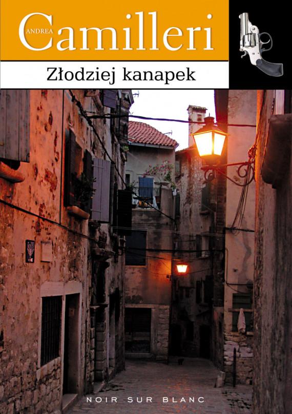 okładka Złodziej kanapekebook   EPUB, MOBI   Andrea Camilleri