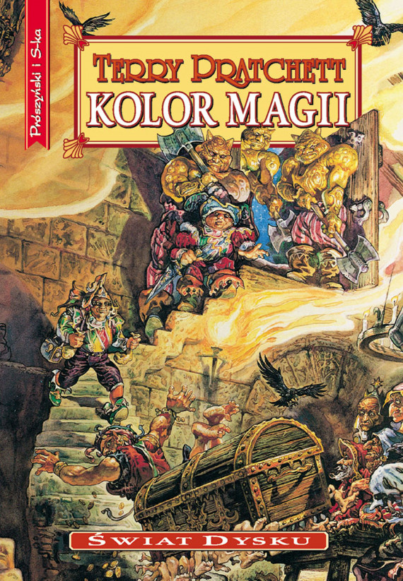 okładka Kolor magiiebook | EPUB, MOBI | Terry Pratchett