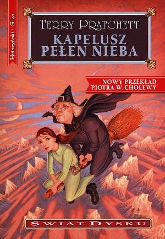 okładka Świat Dysku. (#32). Kapelusz pełen niebaebook | EPUB, MOBI | Terry Pratchett, Piotr W. Cholewa