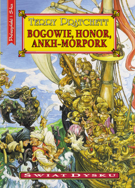 okładka Bogowie,honor,Ankh-Morpork, Ebook | Terry Pratchett