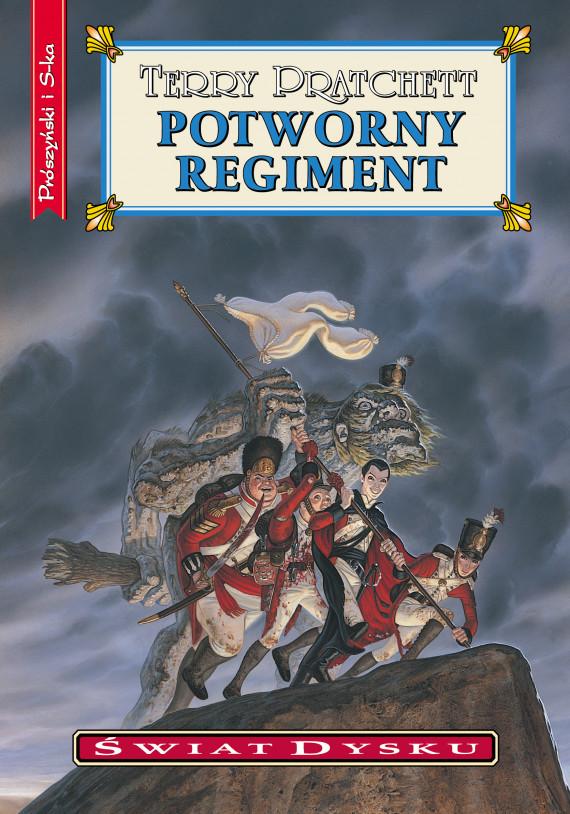 okładka Potworny regimentebook | EPUB, MOBI | Terry Pratchett