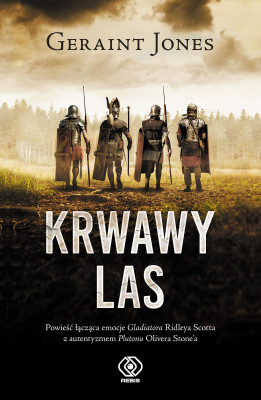 okładka Krwawy las, Ebook | Geraint Jones