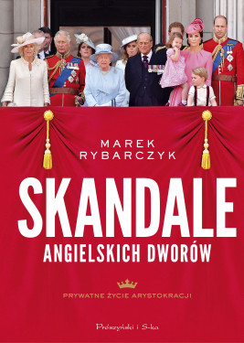okładka Skandale angielskich dworów, Ebook | Marek Rybarczyk