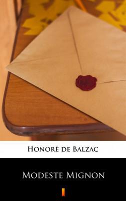 okładka Modeste Mignon, Ebook   Honoré  de Balzac
