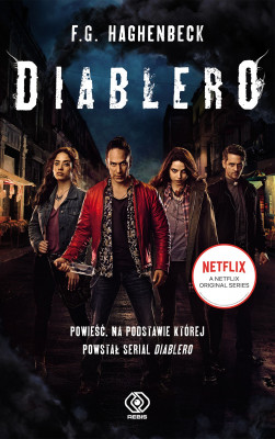 okładka Diablero, Ebook | F.G. Haghenbeck