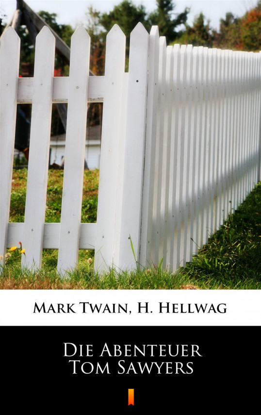 okładka Die Abenteuer Tom Sawyersebook   EPUB, MOBI   Mark Twain, H. Hellwag