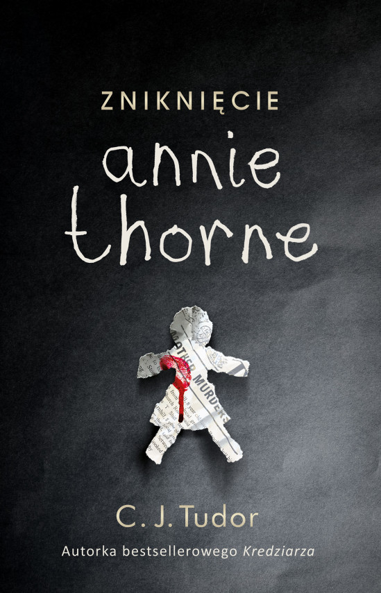 okładka Zniknięcie Annie Thorneebook   EPUB, MOBI   C.J.  Tudor, Grażyna  Woźniak