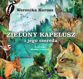 okładka Zielony Kapelusz i jego czereda, Ebook | Weronika Kurosz