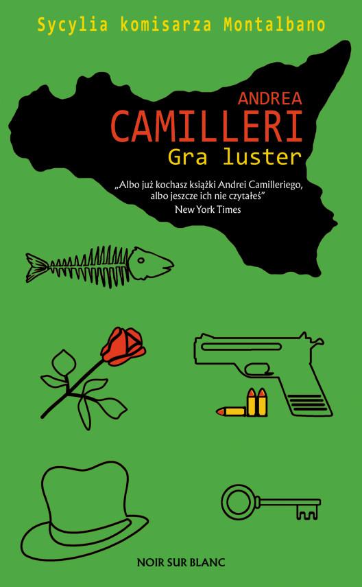 okładka Gra lusterebook | EPUB, MOBI | Andrea Camilleri, Maciej A. Brzozowski