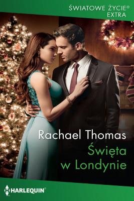 okładka Święta w Londynie, Ebook   Rachael Thomas